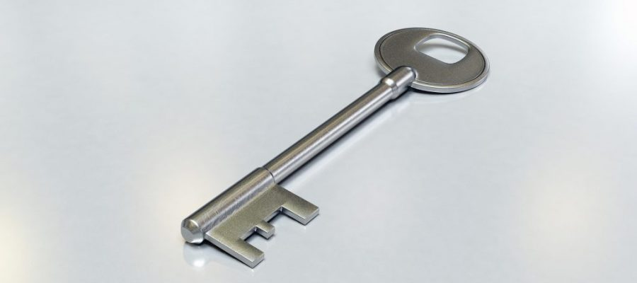 Imagem de uma chave